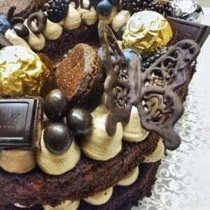 Chocolate Butterfly Detail